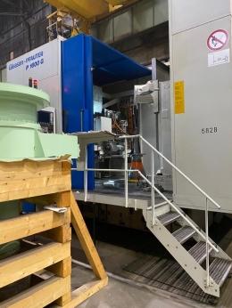 그리슨 파우터 기어연삭기 P1600G CNC