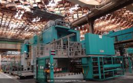스템핑 프레스라인 800 + 600톤