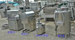 두부기계 중고식품기계 두부기계세트 두부기계set 중고기계