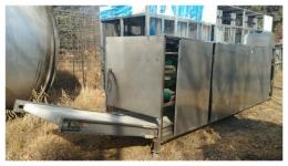 냉각기 살균기 냉각컨베이어 살균컨베이어 3단컨베이어냉각기 중고식품기계