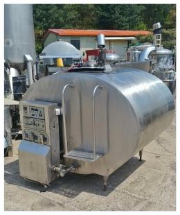 원유냉각기 1600리터원유냉각기 1600리터탱크 원유탱크 스텐탱크 우유냉각기 중고식품기계