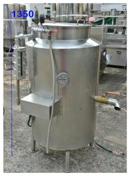 끓임탱크 스텐탱크 두부탱크 끓임솥 중고식품기계 중고두부기계