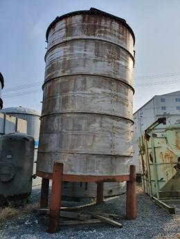 스텐레스 저장탱크 스덴 약40톤