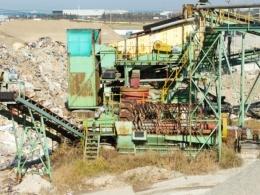 모래생산설비(샌드밀 플랜트 일체)