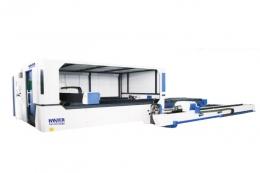밀폐형 파이버 레이저 커팅기, 파이프가공 겸용기, HFL-CSP Series