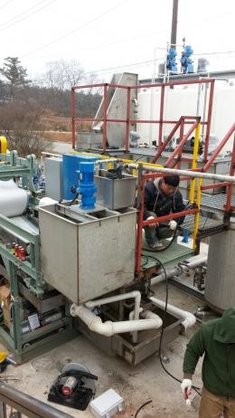 (유)세*바이오 폐수처리시설 납품 및 설치