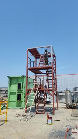 폐수처리시설(도금 폐수처리) 신규 제작 납품전