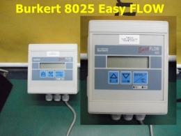 Burkert 8025 Easy FLOW 플로우미터(파이프 속으로 흐르는 액체·가스 등의 속도·양을나타내는것)