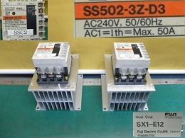 FUJI SS502-3Z-D3 솔리드 스테이트 콘텍터 Solid State Contactor SSC