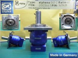alpheno 040-2 감속비40대1 (2-stage)알파 alpha 서보모터용 감속기 (SGMGH-13ACA21 1300W 사용)