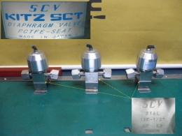 SCV KITZ SCT DIAPHRAGM VALVE PCTFE-SEAT  316L 10K-1/2 다이아프램 밸브