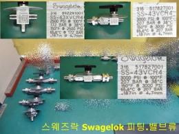 SS-43XVCR4 스웨즈락 Swagelok 피팅.밸브류