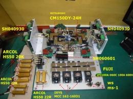 AVR 부품 TR .IGBT.PCB .저항 CM150DY-24H/SH040930/MCC162-16IO1
