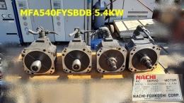MFA540FYSBDB 5.4KW 서보모터 Servo Motor NACHI-FUJIKOSHI  (ROBOT)