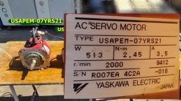 USAPEM-07YRS21 513W 서보모터 Servo Motor  YASKAWA ROBOT