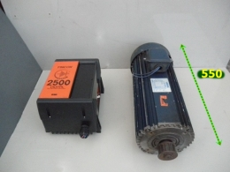 FINCOR 2500 3HP DC DRIVE / LEESON N182D17FK2A 3HP 180V DC모터