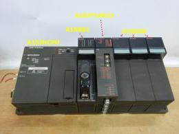MELSEC A1SJHCPU (7585P) /A1SX81 sink/source input module / A1SJ71AR21 Data link module