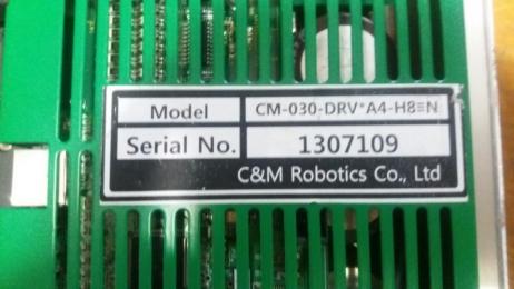 서보드라이브/Robotics/ CM-030-DRV