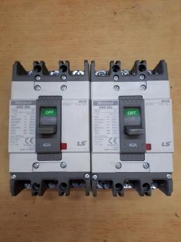 차단기/METASOL ABS 53c/40A/MCCB/LS