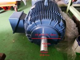 75마력(55KW)/6극/380V/3상/효성/모터