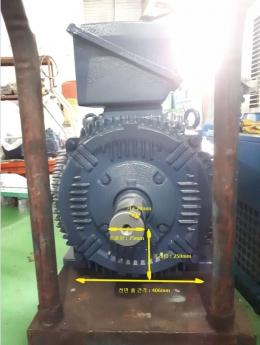 모터/100마력(75KW)/4극/380V/3상/효성