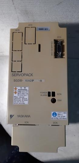 YASKAWA  SGDB-15ADPY8 / SGDB-15ADP SERVOPACK / 서보팩