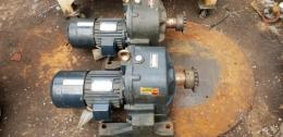 삼양감속기 MG-F235/ 1.5KW 2마력 모터 /비율  120:1 브레이커