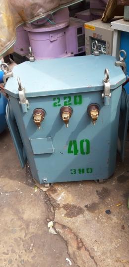 40KVA 트랜스 / 공업용전압조정기/ 도란스 / 380-220V
