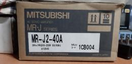 MITSUBISHI MR-J2-40A / 미 사용품 / 서보드라이버