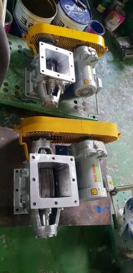 스텐 로타리밸브 1마력 30/1  220/380V / 스텐로터리밸브