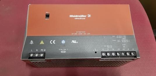 Weidmuller CP SNT 500W 24V 20A / 파워서플라이