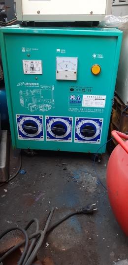 새한일렉트릭 30KVA 트랜스 / 공업용전압조정기