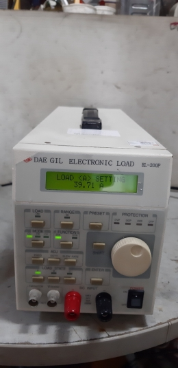 DAE GIL ELECTRONIC LOAD EL-200P