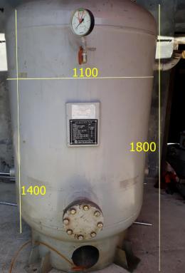 공기 압축탱크(air receiver tank)