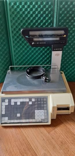 데스콤  AC-4000B / 전자저울 Max 6/15Kg
