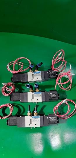 KCC 솔레노이드 밸브 KS320D K22-02 코일전원 AC220V