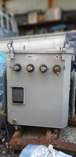 부광 30KVA 트랜스 공업용 전압조정기 도란스