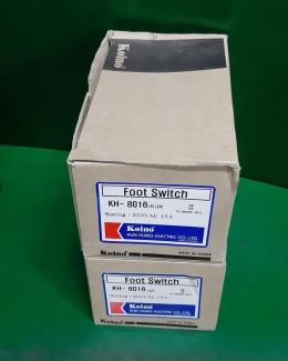 KUN HUNG KH-8016 FOOT SWITCH 발스위치 미사용품 박스