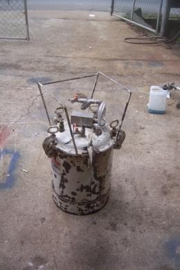 에어압송탱크,압송탱크,폐인트압송탱크,이송탱크