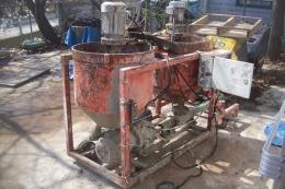 시멘트그라우팅장비,몰탈주입장비,시멘트주입장비,밀크 그라우팅,건설용모노펌프,주입용모노펌프