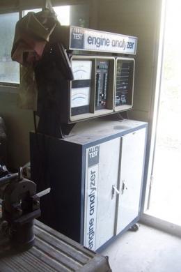엔진분석기,엔진검사기기,알렌분석기,allen test engine analyzer,빈티지 엔진분석기,아날로그 엔진분석기