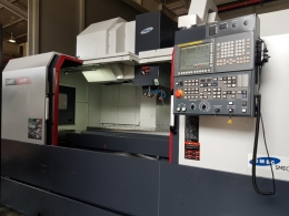 스맥(삼성) 머시닝센터 LCV670. BT40. 12000rpm. 화낙0iMF. 데이타서버.
