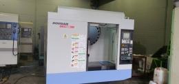 두산 4호 탭핑센터 T-4000L 중고 탭핑센터