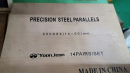 YOON JEON 페럴셋트 200 x 8 x (14 - 50) mm