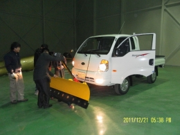 차량용 제설기