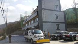 1 톤 트럭용 제설기