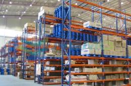 파렛트랙, 물류시스템, 보관시스템, 의류업체 시공사례