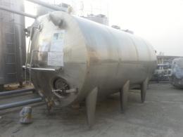 10톤 3중 자켓 교반탱크 가로형