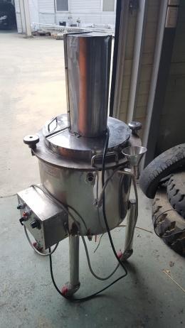 40리터 자켓 교반탱크