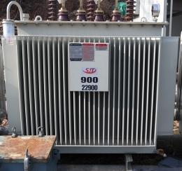 전력용 변압기 900 kva 22.9kv-380v/220v, 중고변압기